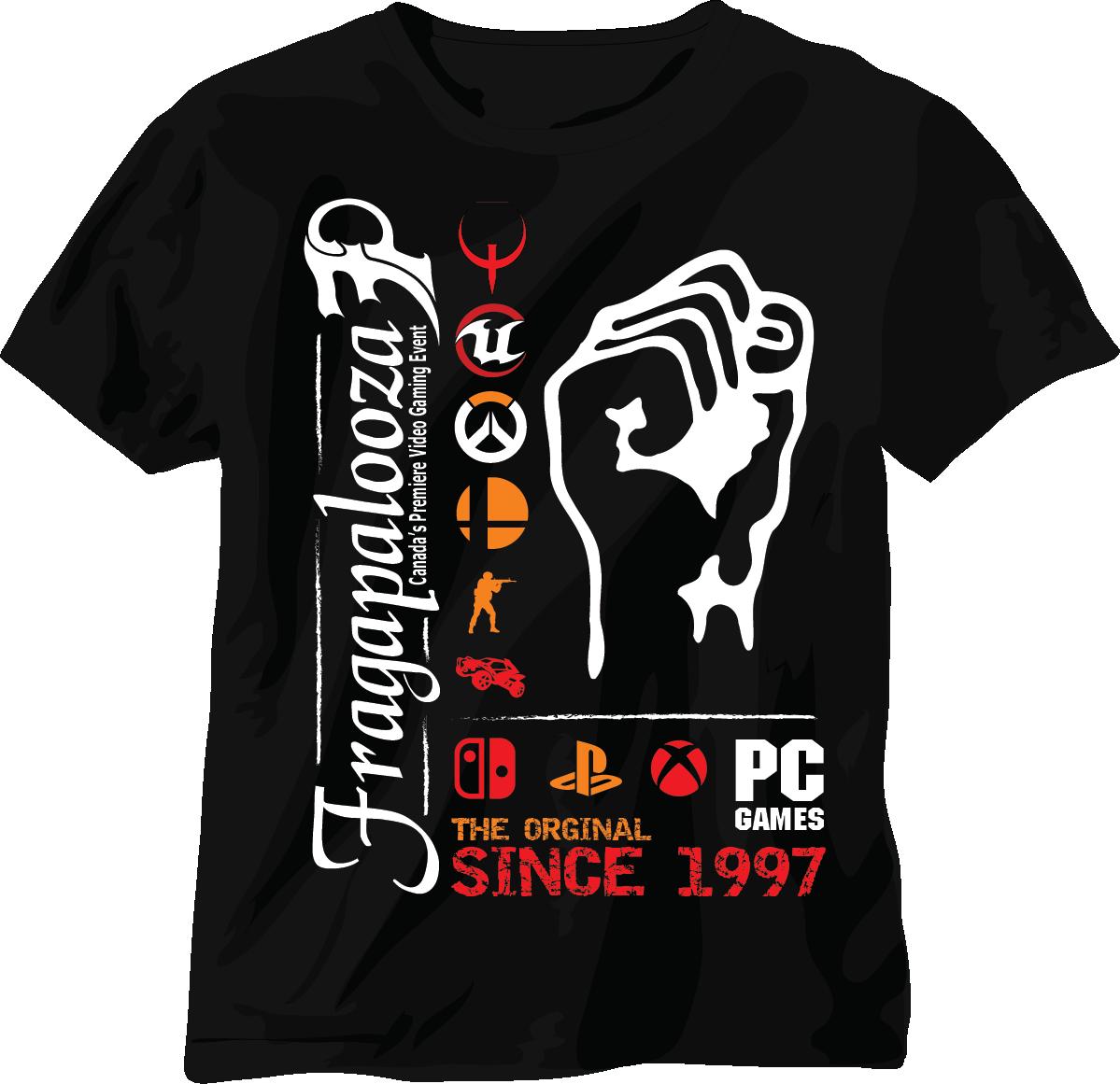 Fragapalooza T Shirt Design